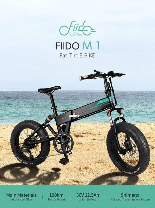 Bicicleta eléctrica FIIDO M1 de oferta desde Europa (Cupón Descuento)