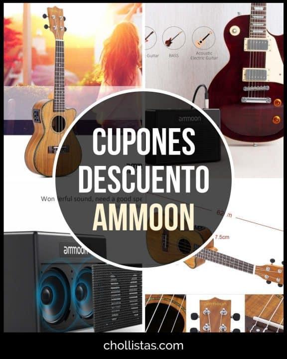 Chollo Ukelele y Amplificador para guitarra eléctrica ammoon a mitad de precio (Cupón Descuento)