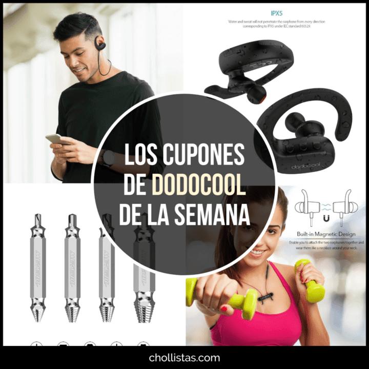 Ofertas gama de auriculares bluetooth dodocool en Amazon (Cupón Descuento)