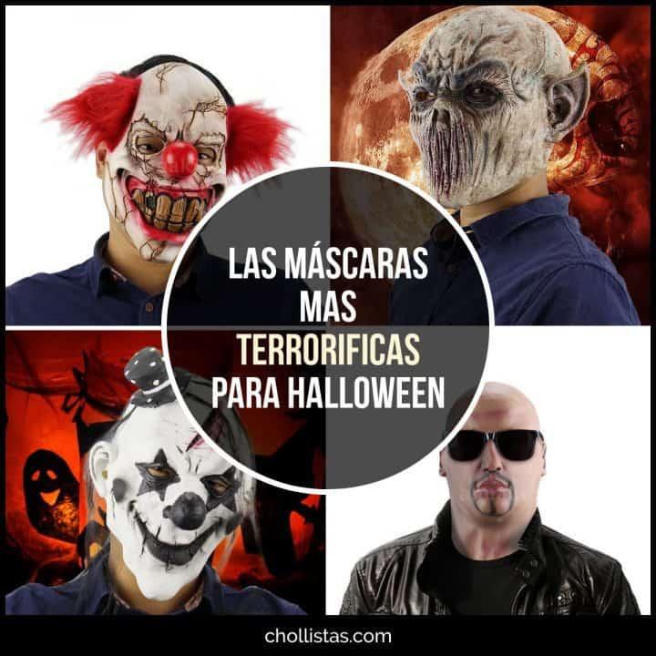 Las máscaras más terroríficas para Halloween de oferta