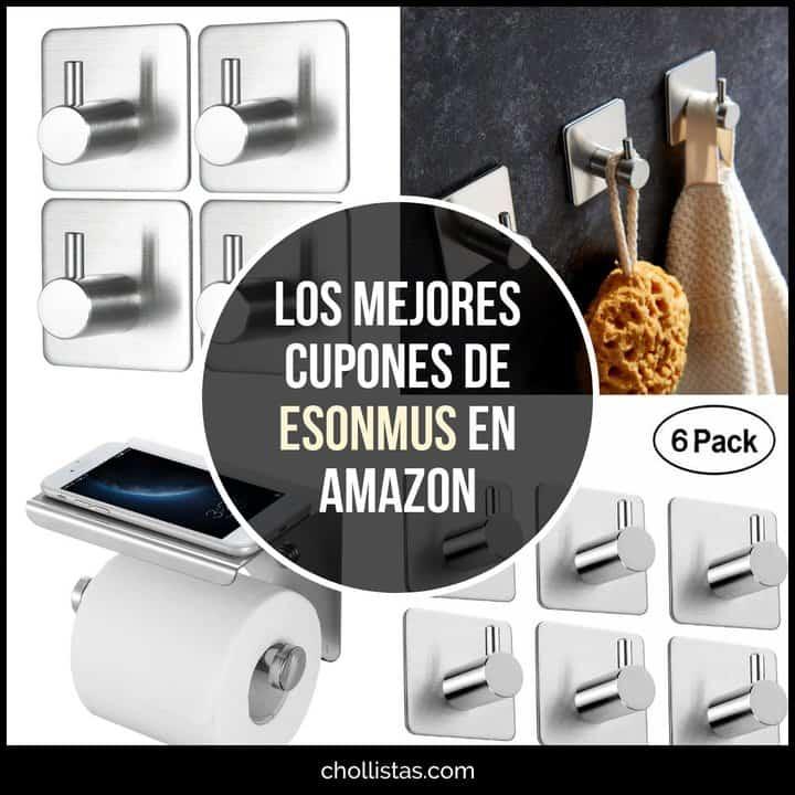 Ofertas en accesorios de hogar de Esonmus en Amazon (Cupón Descuento)
