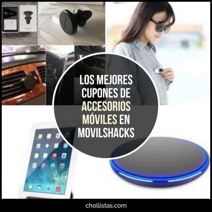 Accesorios de telefonía de oferta en MovilShacks (Cupón Descuento)