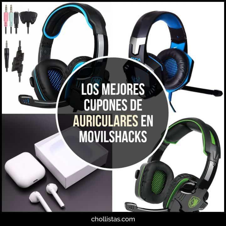 Auriculares de oferta en MovilShacks (Cupón Descuento)