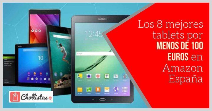 Las 8 mejores tablets baratas por menos de 100 euros