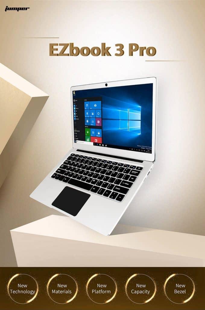 Oferta portátil Jumper Ezbook 3 PRO por 212 euros (Cupón Descuento)