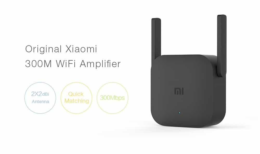 Oferta extensor de red WIFI Xiaomi PRO 300M por 11 euros (Cupón Descuento)