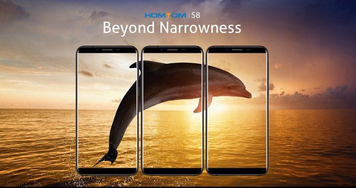 Chollo smartphone HOMTOM S8 64GB por 124 euros (Cupón Descuento)