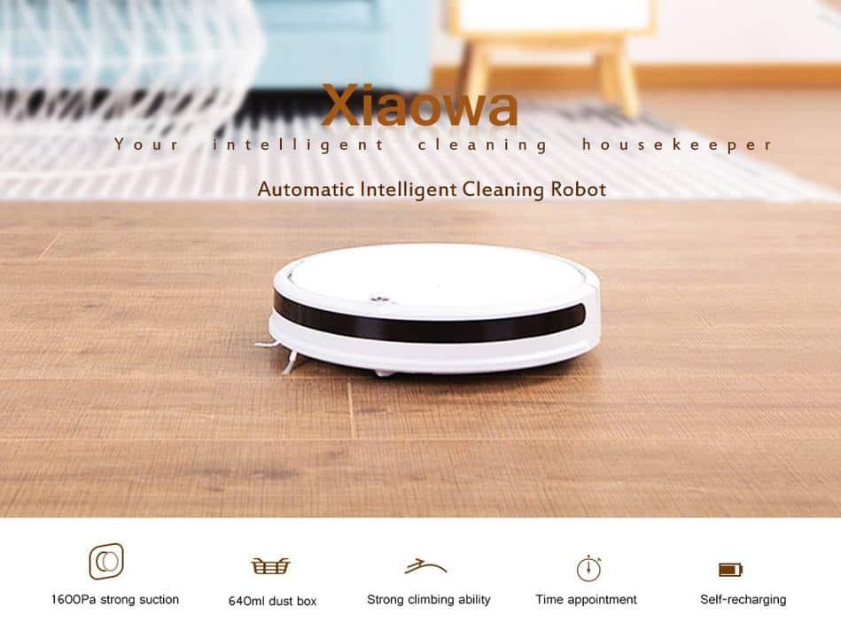Oferta robot de limpieza Xiaomi Xiaowa por 245 euros (Oferta FLASH)