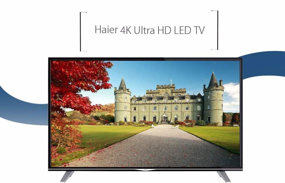 Chollo SmartTV Haier U55H7000 55 pulgadas por 465 euros (Cupón Descuento)