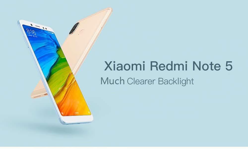 NOVEDAD: Oferta Xiaomi Redmi Note 5 64GB por 188 euros (Oferta FLASH)