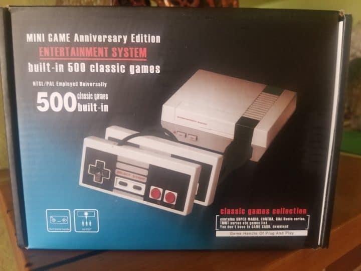 Oferta video consola retro mini NES por 12 euros (Cupón Descuento)