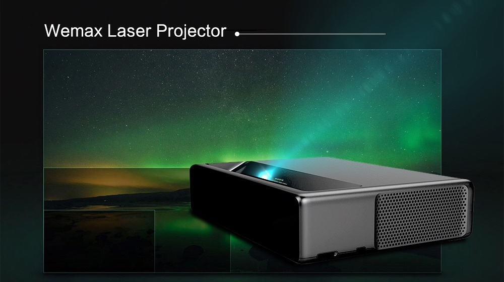 Oferta Proyector Láser Xiaomi WEMAX ONE MJJGYY01FM por 1739 euros (Oferta FLASH)