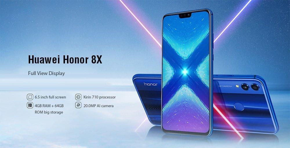 Oferta Huawei Honor 8x 64GB por 198 euros (Cupón Descuento)