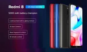 Xiaomi Redmi 8 de oferta por 106 euros (Cupón Descuento)