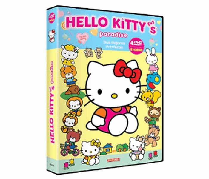 Hello Kitty Paradise 4 DVD al 50%, un chollo