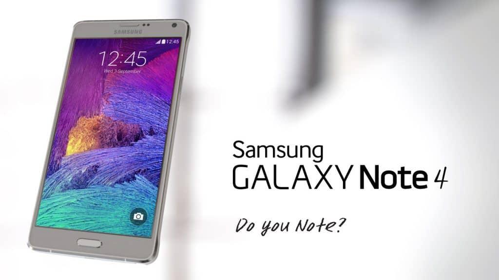 Samsung Galaxy Note 4 por 594,99 euros