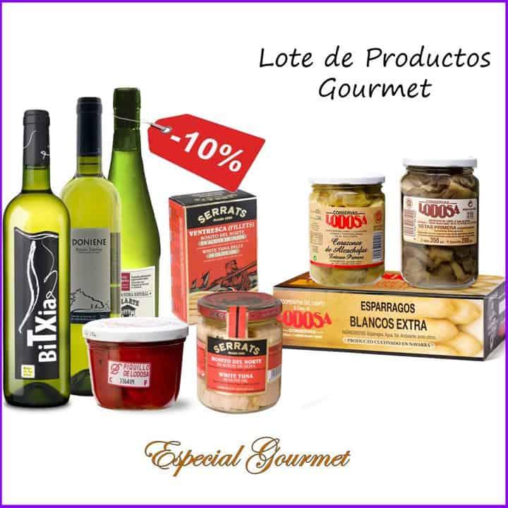 Lote Goumet por 45,25 euros (Ahorro del 10%)