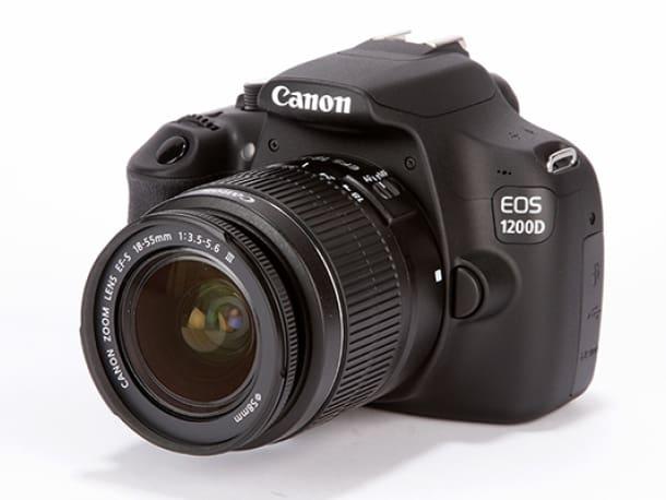 Cámara Canon-EOS-1200D. Las mejores cámaras reflex por menos de 400 euros
