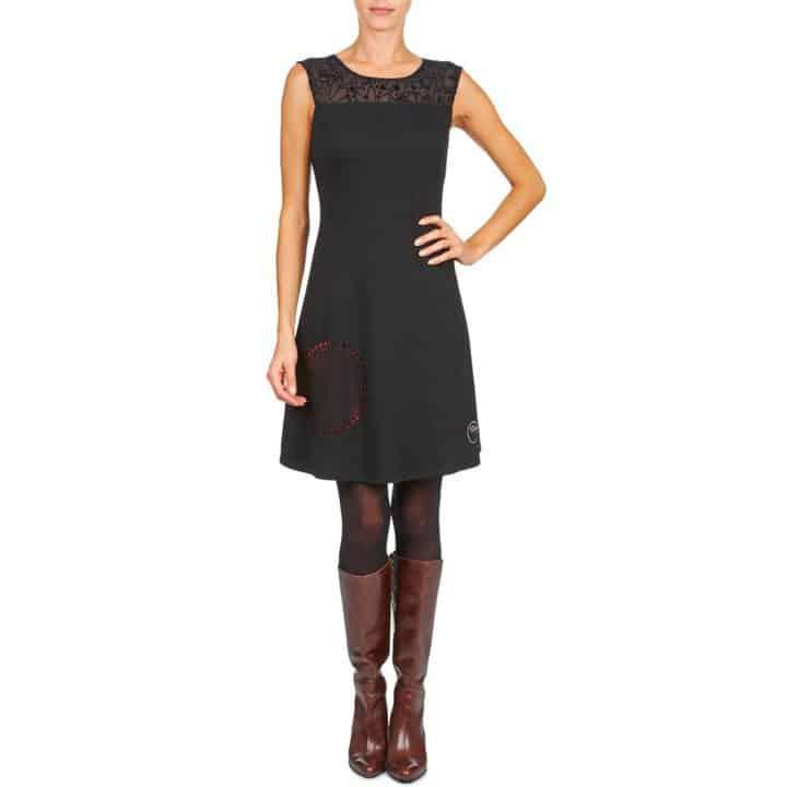 Rebajas: Vestido Desigual Cosami Negro por 48,30 euros (Ahorra 20 euros)
