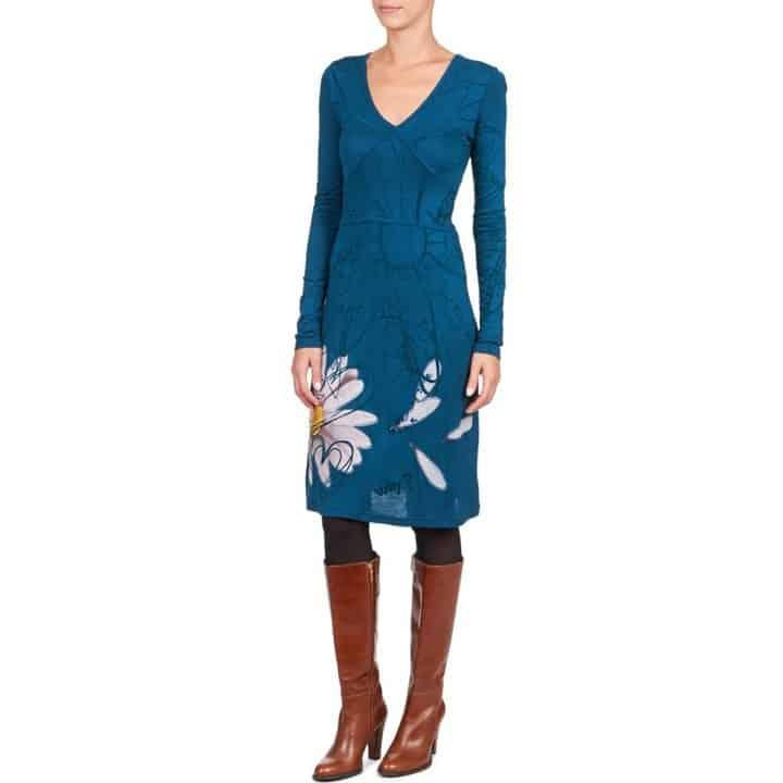 Oferta: vestido Desigual Quatri azul por 47,20 euros (20% descuento)