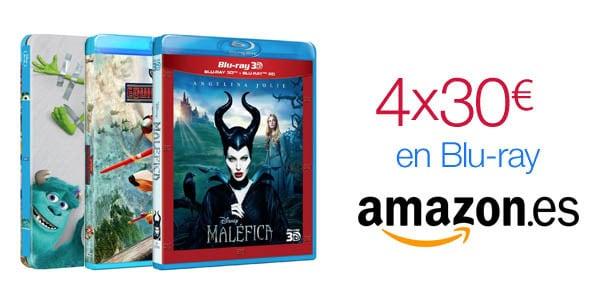 Chollo: 4 Blu-ray por 30 euros
