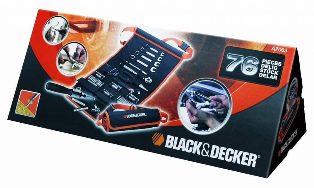 Chollo Black Decker herramientas manuales por 28 euros (36% descuento)