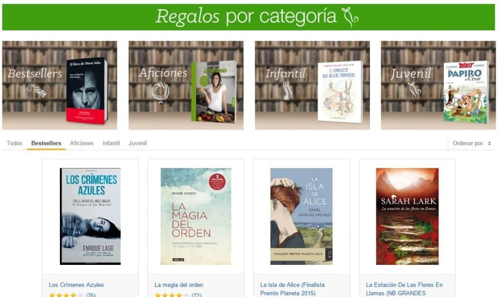 Los libros más vendidos de Amazon al 5% de descuento
