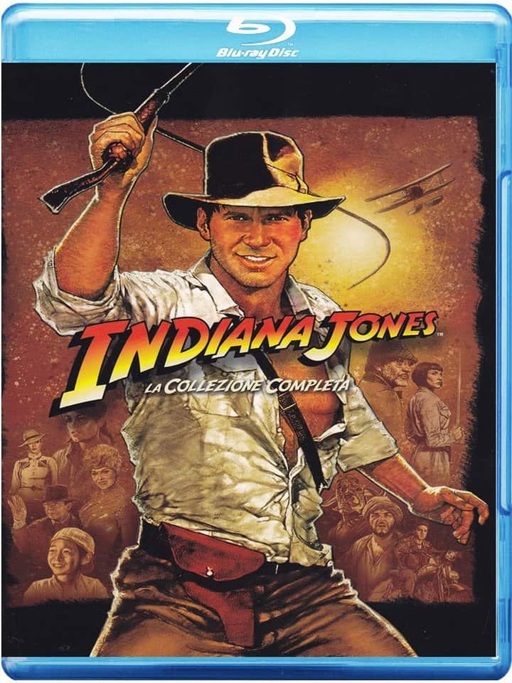 Chollo Indiana Jones Blu-Ray Colección completa por 17 euros