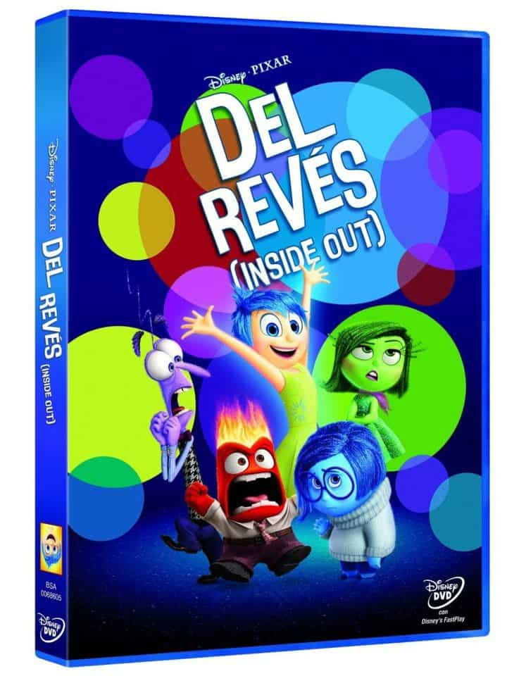 Oferta DVD Del Revés (Inside Out) por 13 euros (31% DTO.)