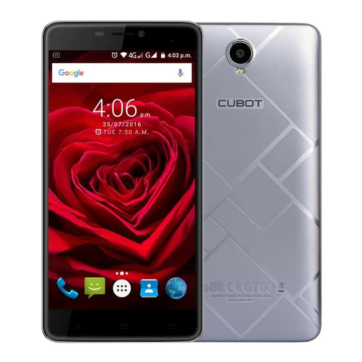 Chollo smartphone Cubot Max 4G 6 pulgadas por 102 euros