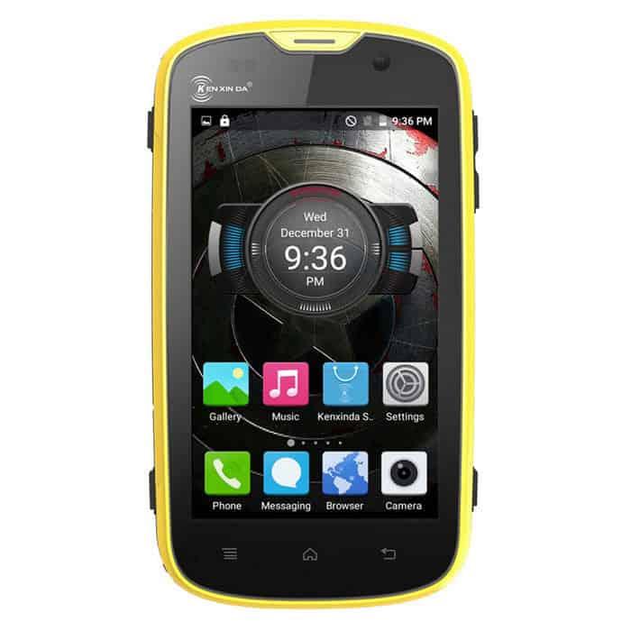 Oferta smartphone Kenxinda W5 por 93 euros ¡Indestructible!