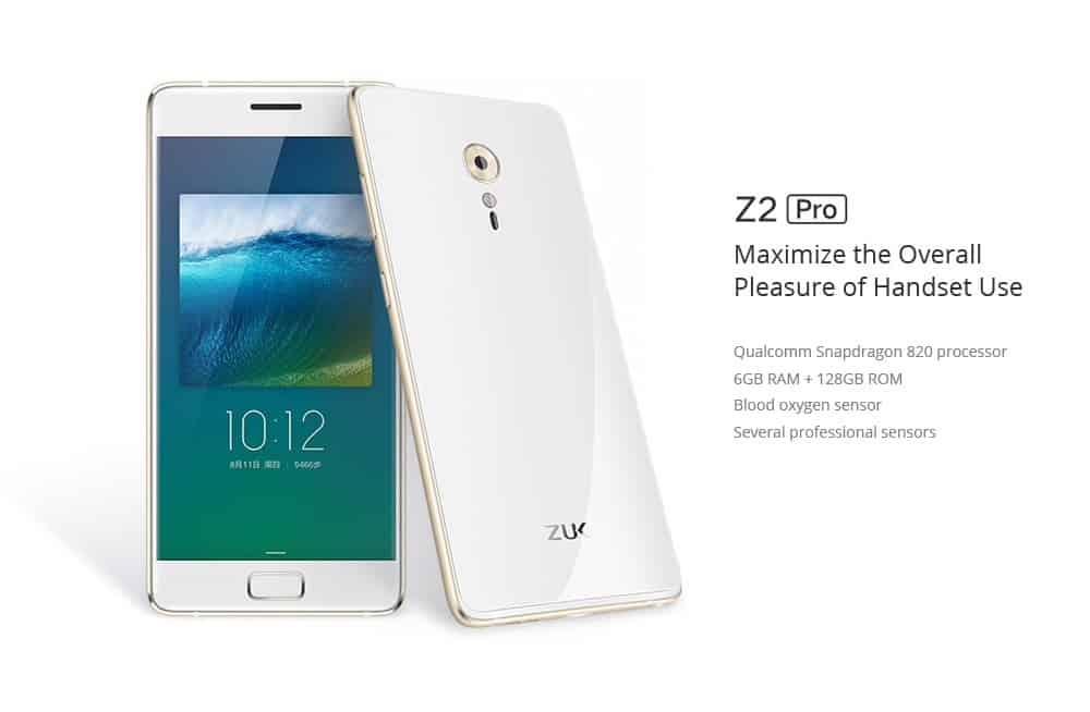 Oferta Lenovo ZUK Z2 PRO por 221 euros (Cupón Descuento)