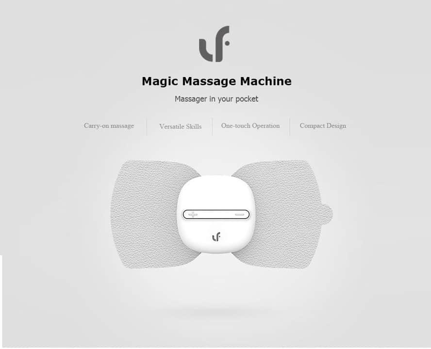 Oferta Masajeador y estimulador de pulsos TENS de Xiaomi por 13 euros (Cupón Descuento)