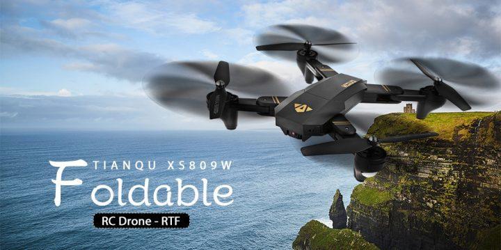 Dron plegable VISUO XS809W comprar barato al precio minimo de oferta con cupón descuento. Con envío GRATIS Libre de aduanas para España.