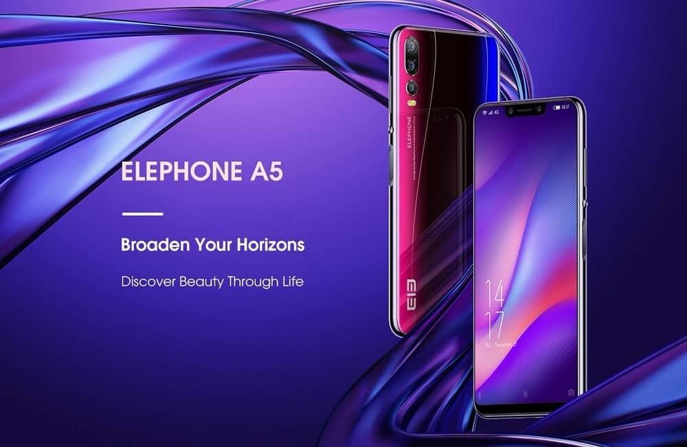 Oferta Elephone A5 64GB por 177 euros (Oferta FLASH)