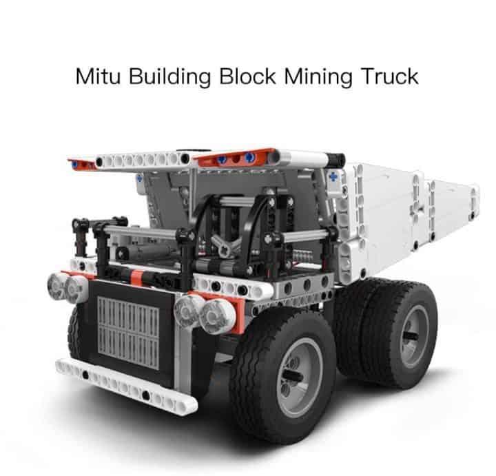Oferta Camión tipo LEGO de Xiaomi por 23 euros (Oferta FLASH)
