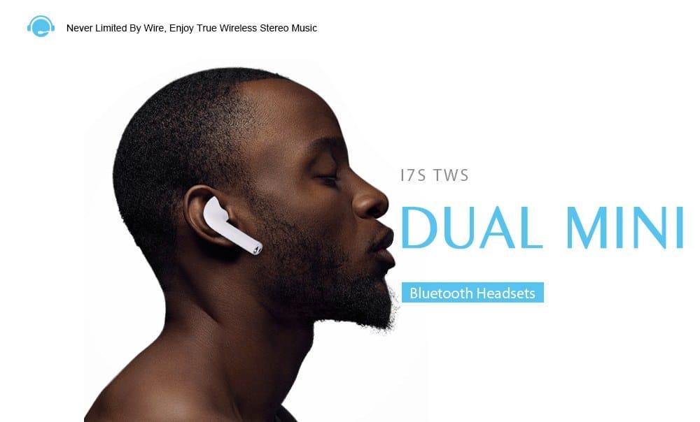 Oferta auriculares bluetooth sin cable tipo AirPods por 13 euros (Cupón Descuento)