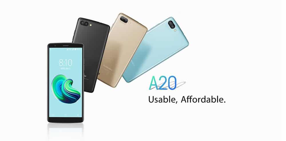 Chollo smartphone Blackview A20 por 51 euros (Oferta FLASH)