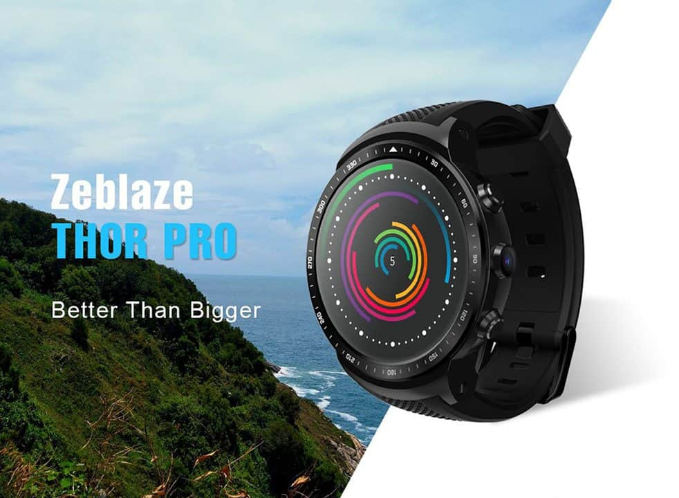 Chollazo: Smartwatch con Android Zeblaze THOR PRO por 84 euros (Oferta FLASH)