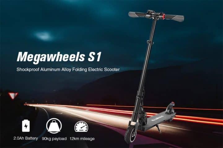 Chollo patinete eléctrico Megawheels S1 por 164 euros (Cupón Descuento)