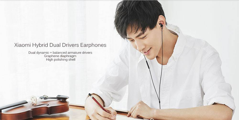 Oferta auriculares Xiaomi QTEJ03JY con cancelación de ruido por 17 euros (Cupón Descuento)