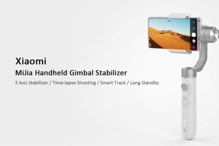 Oferta Estabilizador Gimbal Xiaomi Mijia por 87 euros (Cupón Descuento)