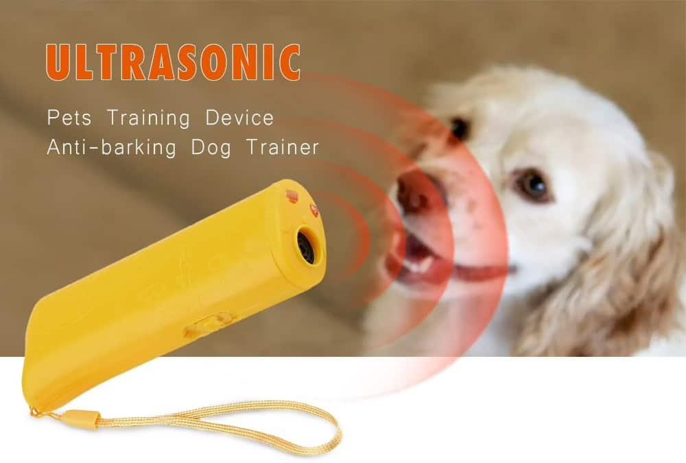 Oferta dispositivo ultrasonico antiladrido de perros por 7 euros (Oferta FLASH)
