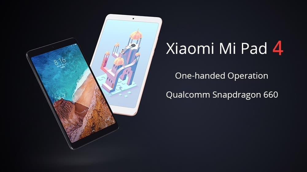 Oferta Xiaomi MiPad 4 por 146 euros (Oferta FLASH)