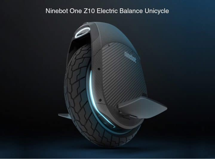Oferta Uniciclo Ninebot One Z10 por 1591 euros (Oferta FLASH)