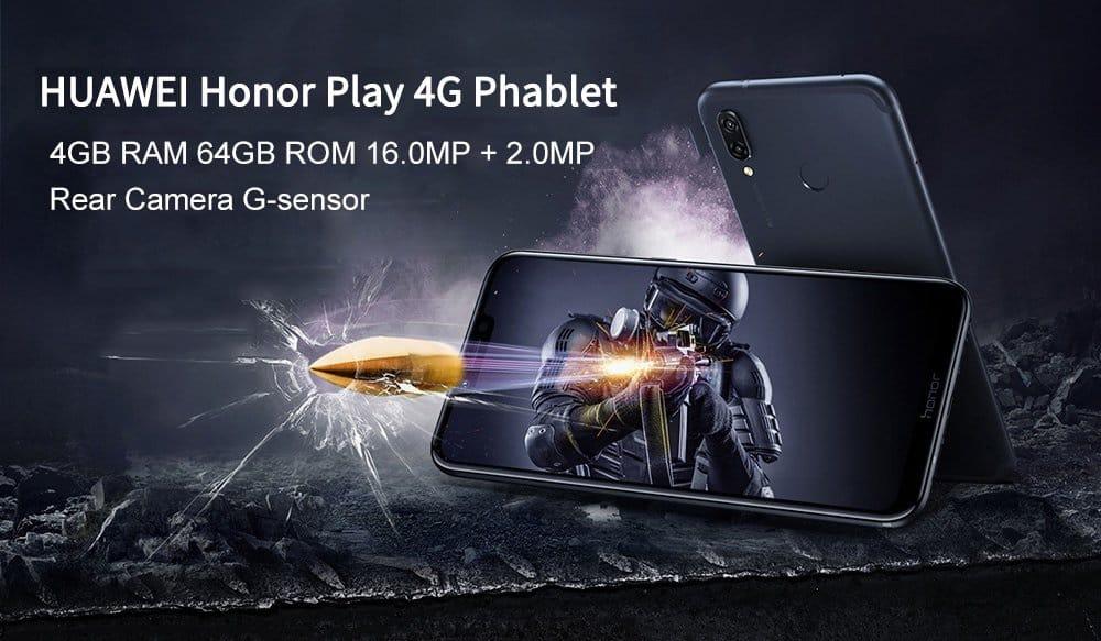 Oferta Huawei Honor Play por 277 euros (Oferta FLASH)