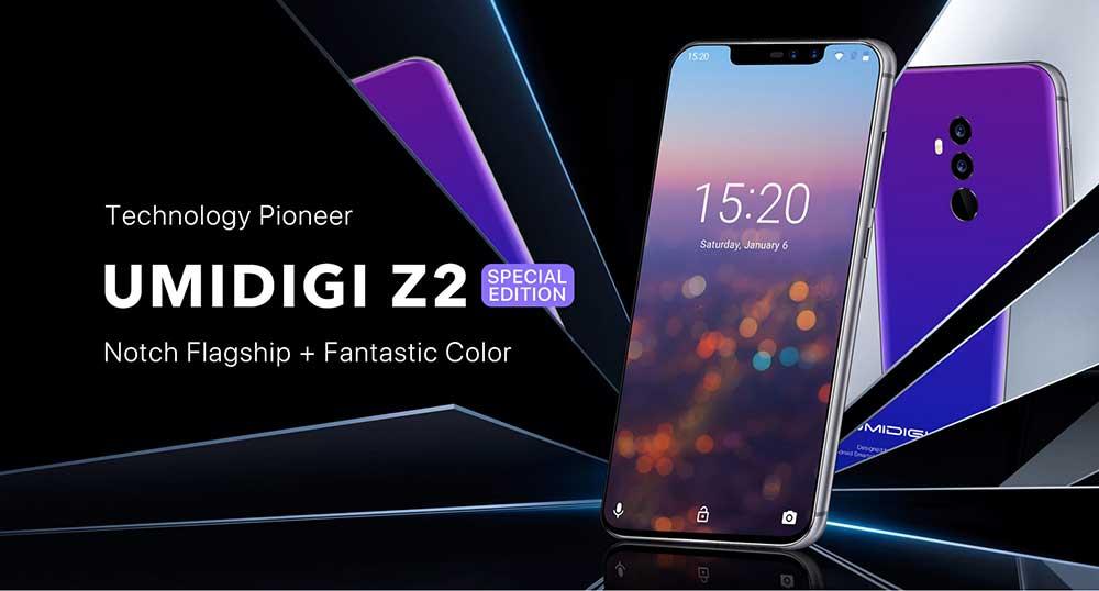 Oferta smartphone UMIDIGI Z2 Special Edition por 172 euros (Oferta FLASH)