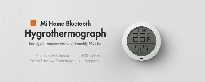 Oferta sensor de humedad y temperatura Xiaomi por solo 13 euros (Cupón Descuento)
