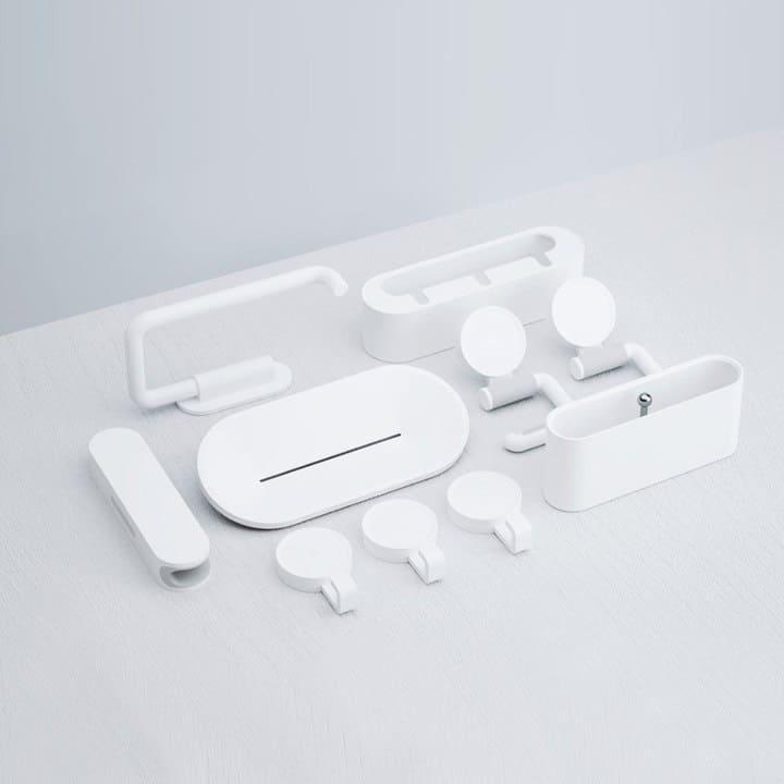 Oferta Kit soportes adhesivos para baño Xiaomi HL 7 en 1 por 22 euros (Oferta FLASH)