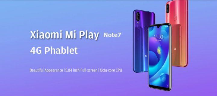 Xiaomi Mi Play comprar barato al precio minimo de oferta con cupón descuento. Con envío GRATIS Libre de aduanas para España.